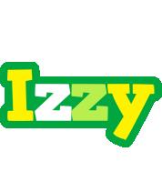 Izzy soccer logo