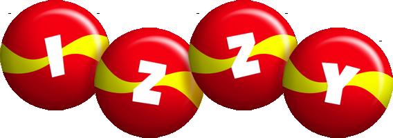 Izzy spain logo