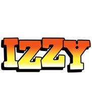 Izzy sunset logo