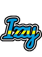 Izzy sweden logo