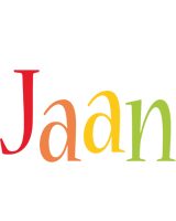 Jaan birthday logo
