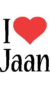 Jaan i-love logo