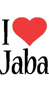 Jaba i-love logo