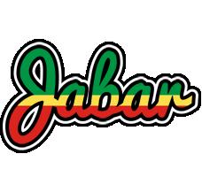 Jabar african logo