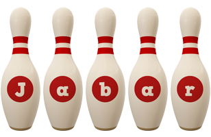 Jabar bowling-pin logo