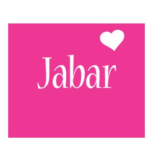 Jabar love-heart logo