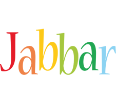 Jabbar birthday logo