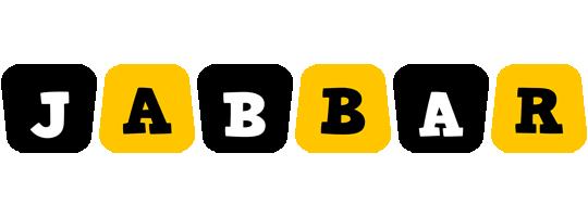 Jabbar boots logo