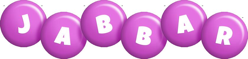 Jabbar candy-purple logo