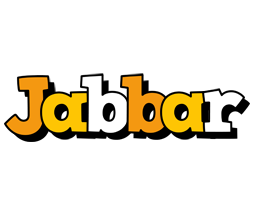 Jabbar cartoon logo