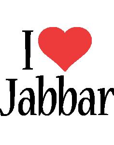 Jabbar i-love logo