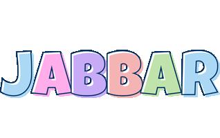Jabbar pastel logo