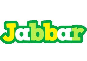 Jabbar soccer logo