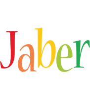 Jaber birthday logo
