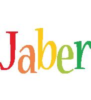 Jaber birthday logo