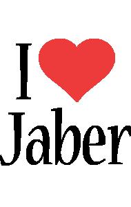 Jaber i-love logo