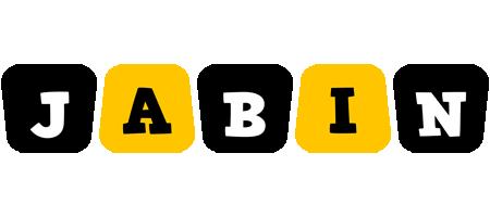 Jabin boots logo