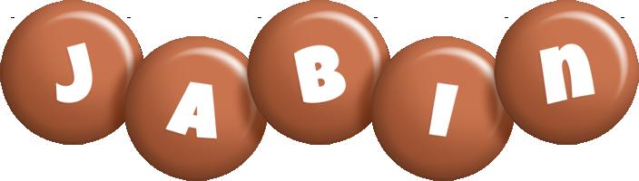 Jabin candy-brown logo