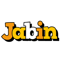 Jabin cartoon logo