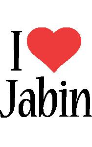 Jabin i-love logo