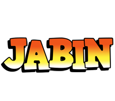 Jabin sunset logo