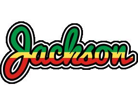 Jackson african logo