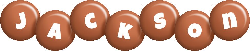 Jackson candy-brown logo