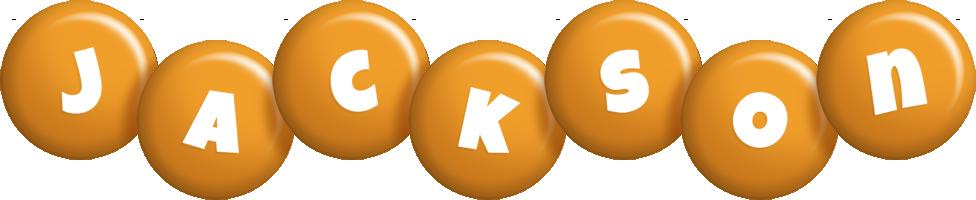 Jackson candy-orange logo