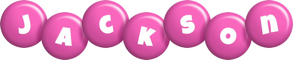 Jackson candy-pink logo