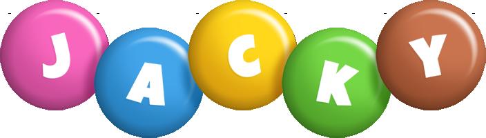 Jacky candy logo