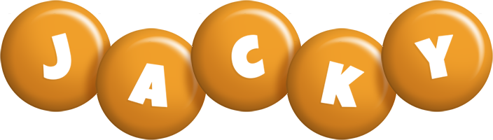Jacky candy-orange logo