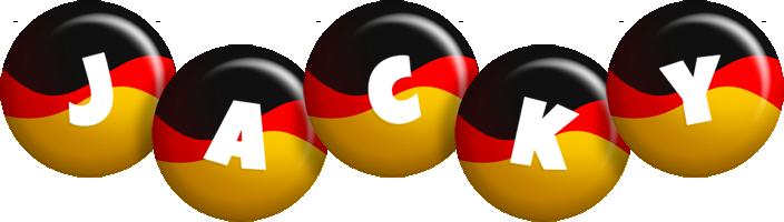 Jacky german logo
