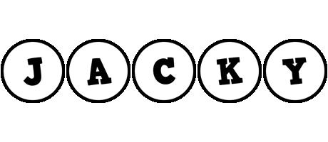 Jacky handy logo