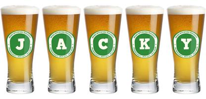 Jacky lager logo