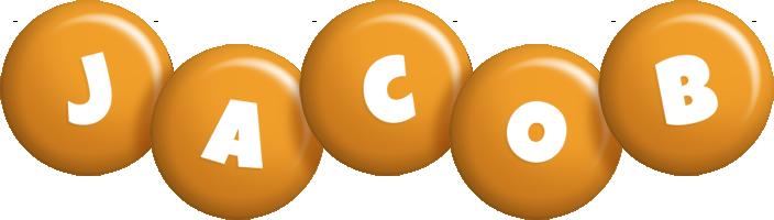 Jacob candy-orange logo