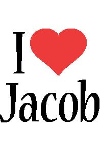 Jacob i-love logo