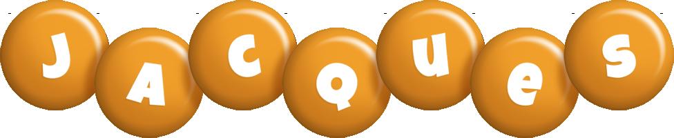 Jacques candy-orange logo