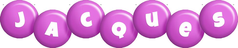 Jacques candy-purple logo
