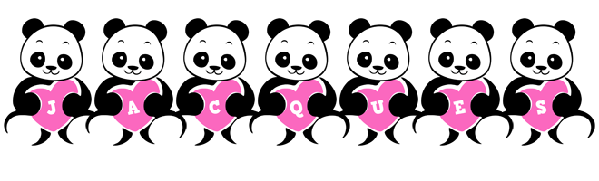 Jacques love-panda logo