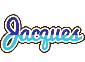 Jacques raining logo