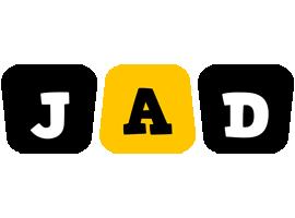 Jad boots logo