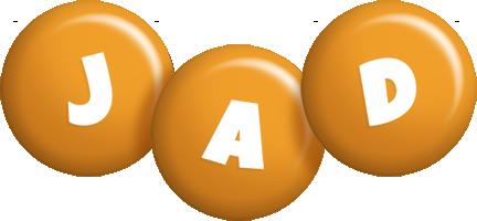 Jad candy-orange logo