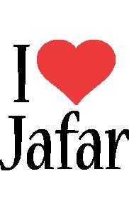 Jafar i-love logo