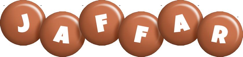 Jaffar candy-brown logo