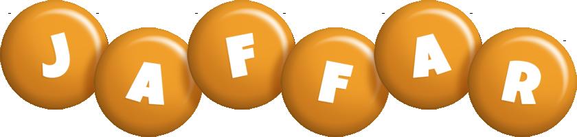 Jaffar candy-orange logo