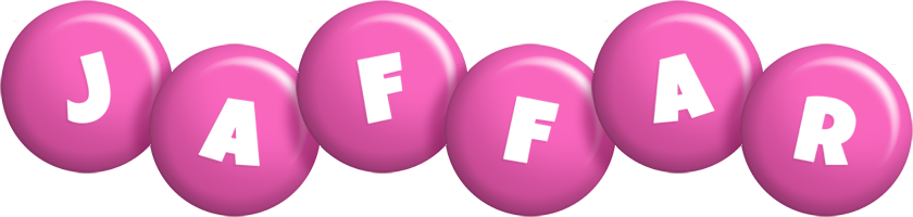 Jaffar candy-pink logo