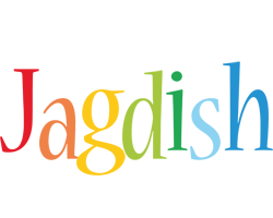 Jagdish birthday logo