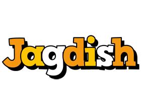 Jagdish cartoon logo