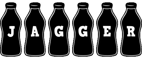 Jagger bottle logo
