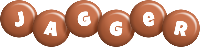 Jagger candy-brown logo